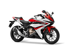 Honda Motorcycles 2016 18 CBR500R Worldwide White 540170 300x217